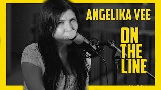 Angelika Vee - Heart On The Line, (On the Line Acoustic Version) Original