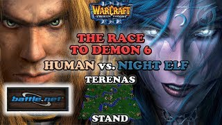Grubby | Warcraft 3 The Frozen Throne on Battle.net | HU v NE - The Race to Demon 6 - Terenas Stand