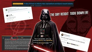 The Most Savage Man On Earth Rants: The Day Reddit Took EA Down