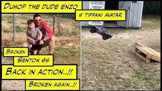Duhop Post Wrestlemania Monday Senton 6s Race Truck Vlog