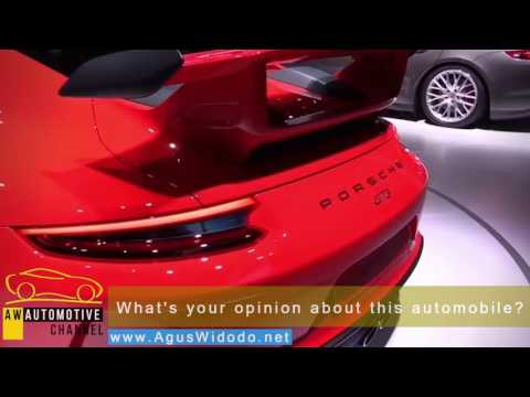 Porsche 911 GT3 2017 give Review Scores to this new Car Autos 1 for min and 100 for max points