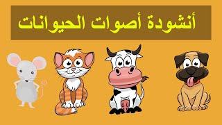 أنشودة اصوات الحيوانات للاطفال بالعربي - Animals song for kids in arabic - Chanson sons des animaux