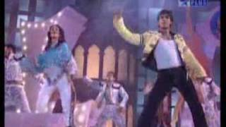 Shahid Kapoor y Amrita Rao en concierto