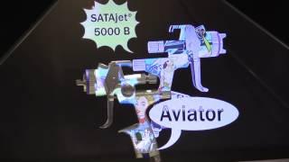 Special Edition SATAjet 5000 B™ Aviator Released at SEMA 2016