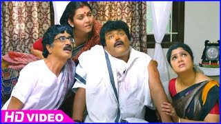 Azhagiya Pandipuram Tamil Movie - Sriman gets beaten by ladies