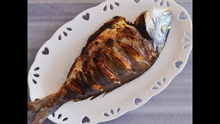 Stuffed Fish طرز تهیه ماهی شکم پر خوشمزه و طریقه صحیح از بین بردن کامل بوی زخم ماهی