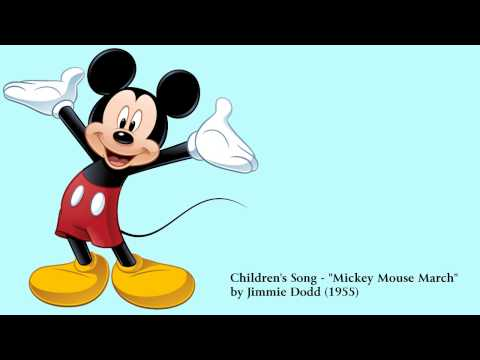 Children s Song Mickey Mouse March by Jimmie Dodd 1955