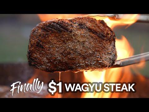 Finally The 1 Dollar WAGYU Steak has arrived