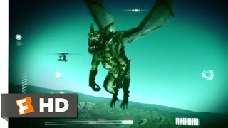 Alien Convergence (2017) - Mysterious Flying Monster Scene (2/9) | Movieclips