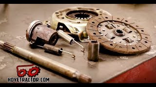 Yanmar Tractor Clutch Replacement