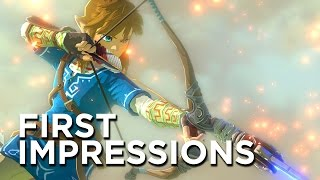 The Legend Of Zelda: Breath Of The Wild First Impressions - Returning To Those 1986 Roots