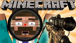 If Minecraft was a First Person Shooter