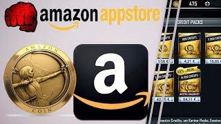 WWE SuperCard Credits günstiger erhalten dank Amazon Appstore