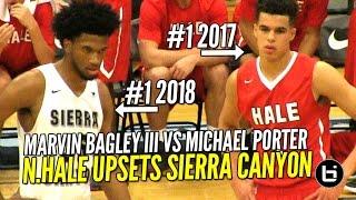 Future NBA Stars BATTLE! Michael Porter Jr vs Marvin Bagley III at LSI! Full Highlights!