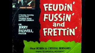 Jerry Falwell FEUDIN' FUSSIN' AND FRETTIN - The Monkey Song