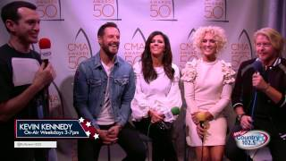 The 50th Annual CMA Awards Broadcast: Little Big Town Interview