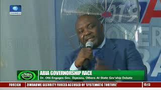Governorship Candidates In Abia Reel Out Plans To Develop State In Debate