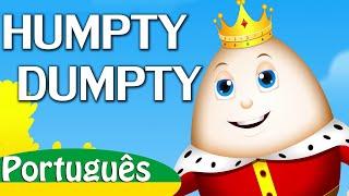 Humpty Dumpty Sentou em Um Muro Canção de Ninar | Canções Infantis em Português | ChuChu TV