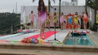 Miss Silka  Swimsuit competition 2013 @ Casablanca Private  Resort Part 1