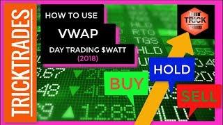 VWAP: The right way to use it! (WATT day trade example) 2018