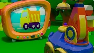 Подъемный Краник Стёпа - Степа-Строитель, развивающие мультфильмы для малышей, серия 1