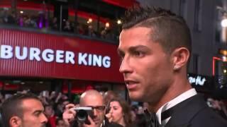 Sir Alex Ferguson attends Cristiano Ronaldo's movie premiere in London