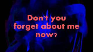 Enrique Iglesias - Don't You Forget About Me (lyrics)