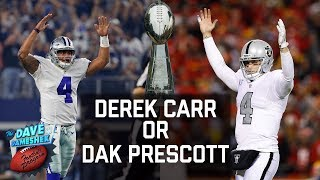 Derek Carr or Dak Prescott: Who Will Win a Super Bowl First? | DDFP | NFL