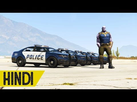 Xxx Mp4 Thanos Vs Police In GTA 5 Hindustani Gamer 3gp Sex