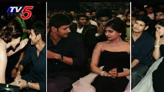 Prince Mahesh Babu - Actress Samantha Kiss At 61st Idea Filmfare Awards 2014 | TV5 News