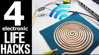 4 Electronic Life Hacks that are INCREDIBLE