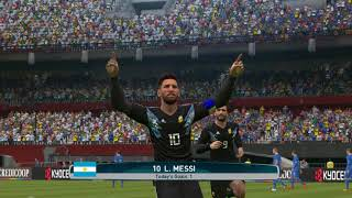 Argentina vs Iceland Fifa WC 2018 Group D Match 6 Ft Messi