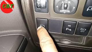 How to wash Headlight TOYOTA Land Cruiser,Car Technology,