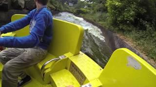 River Rapids 26 June at Alton Towers