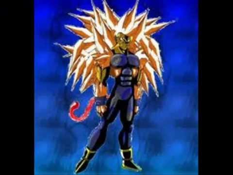 Goku fases 1 a 15 Vegeta fases 1 a 5 Broly ozauro Goku y Baby golden ozauro
