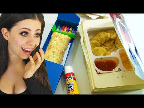 BEST SCHOOL HACKS sneak food into class