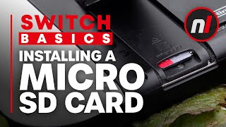 How to Install a Micro SD Card in Your Nintendo Switch | Increase Nintendo Switch Storage