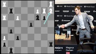 Magnus Carlsen vs himself at 23: The Rematch (Incredible Tactical Play!!)