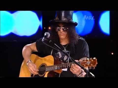 Civil War Slash & Myles Kennedy Rare Acoustic MAX Sessions 2010 Best Quality 480p