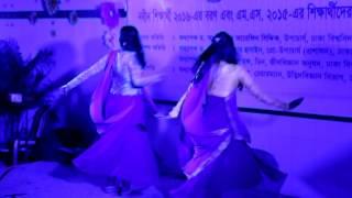 Pagla hawar badol dine dance by Ridita & Mitu,Du botany