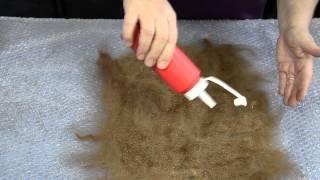 Felting with Alpaca Wool
