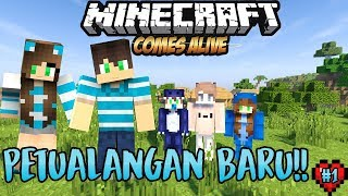 MULAI HIDUP BARU DENGAN NANA - Minecraft Comes Alive S2 Eps.1