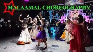 Malaamal Dance - Wedding Choreography by @aka_naach