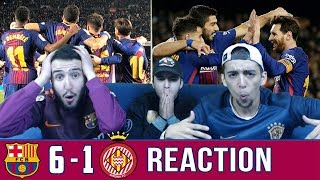 Messi Suarez Coutinho & Dembélé the unstoppable strike force!! | Barcelona vs Girona 6-1 | Reaction