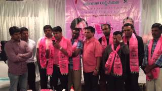 Telangana State Formation Day Celebrations NRI TRS USA-Cell Tampa FL. June 2nd 2015 Tony Jannu