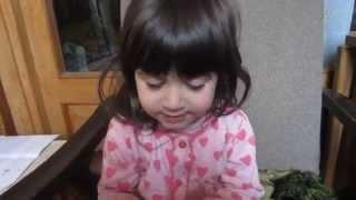 ძალიან საყვარელი ბავშვი სალომე Очень милый ребенок Саломе Very cute baby Salome