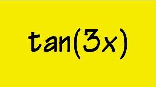 tan(3x) in terms of tan(x)