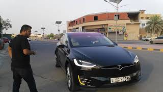 Sid & Aseem Travel In The RTA Tesla Taxi