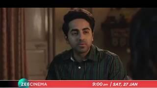 Ayushmann Khurrana | Bhumi Pednekar | Shubh Mangal Saavdhan - Sat, 27th Jan, 9 PM
