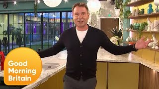 GMB Takes an Exclusive Look Inside the New Celebrity Big Brother House | Good Morning Britain
